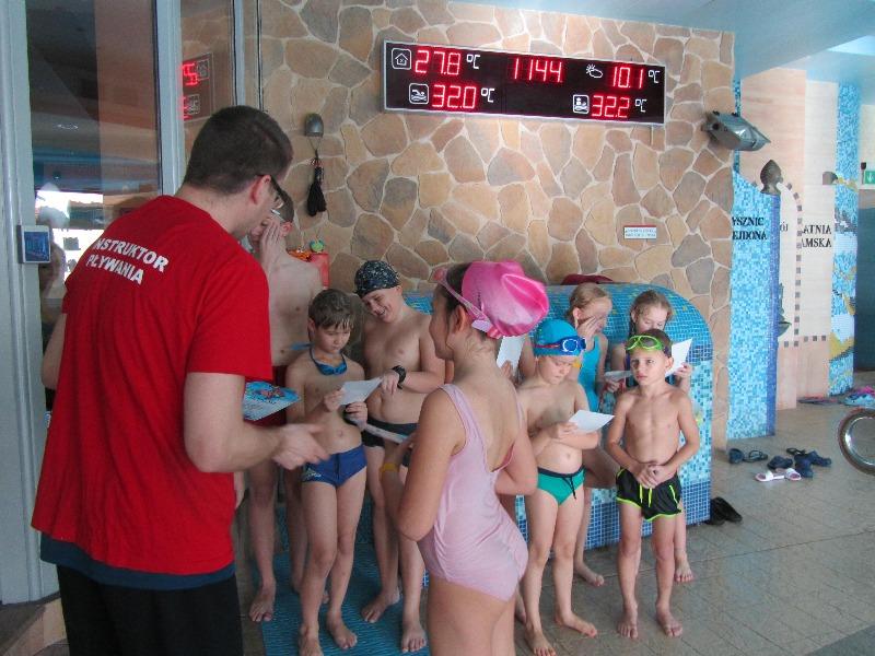 Nauki pływania etap II i III