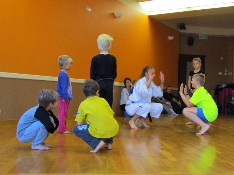 Pierwsze zajęcia Teakwondo