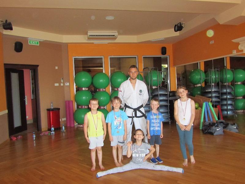 Teakwondo  i medale dla najmłodszych