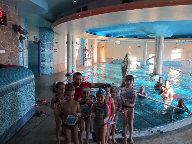 Zakończenie kursów nauki pływania styczeń 2016