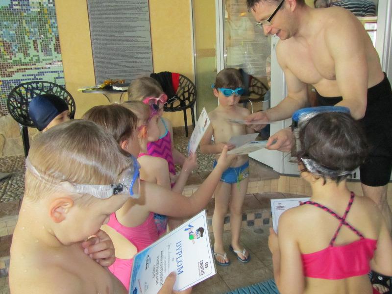 Zakończenie kursów pływania - etap II i etap III
