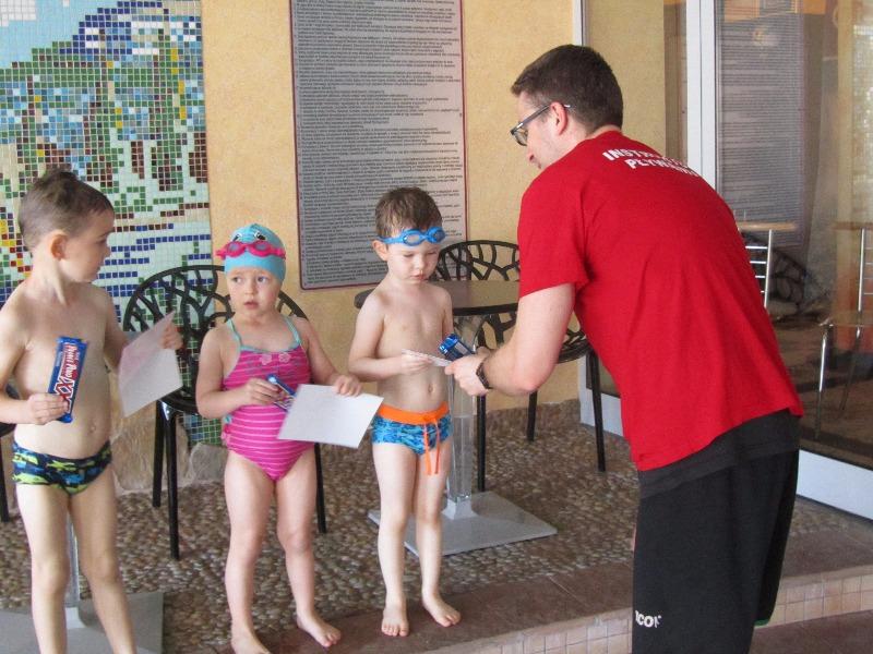 Zakończenie kursu pływania 28 maja 2017