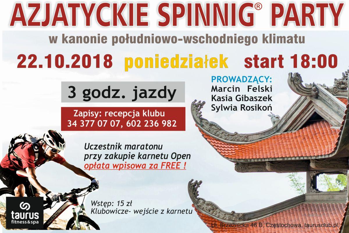 AZJATYCKIE SPINNIG PARTY
