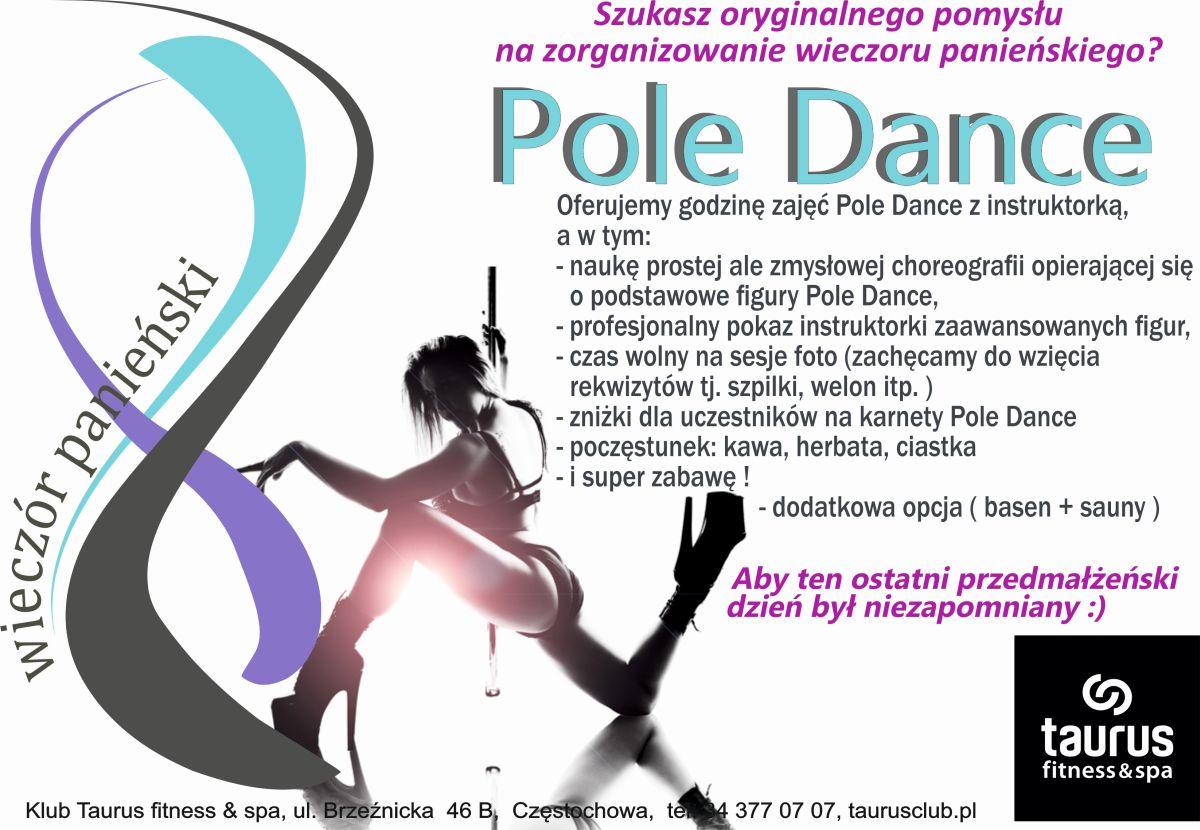 Wieczór panieński z Pole Dance