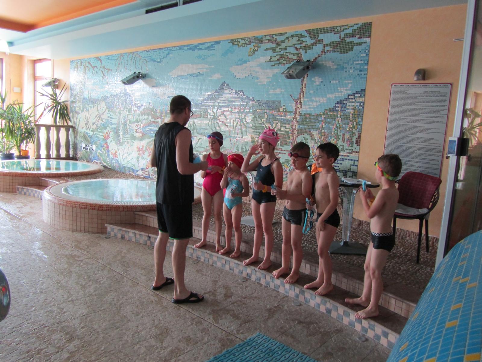 Kurs Nauki Pływania zakończony - już wakacje !