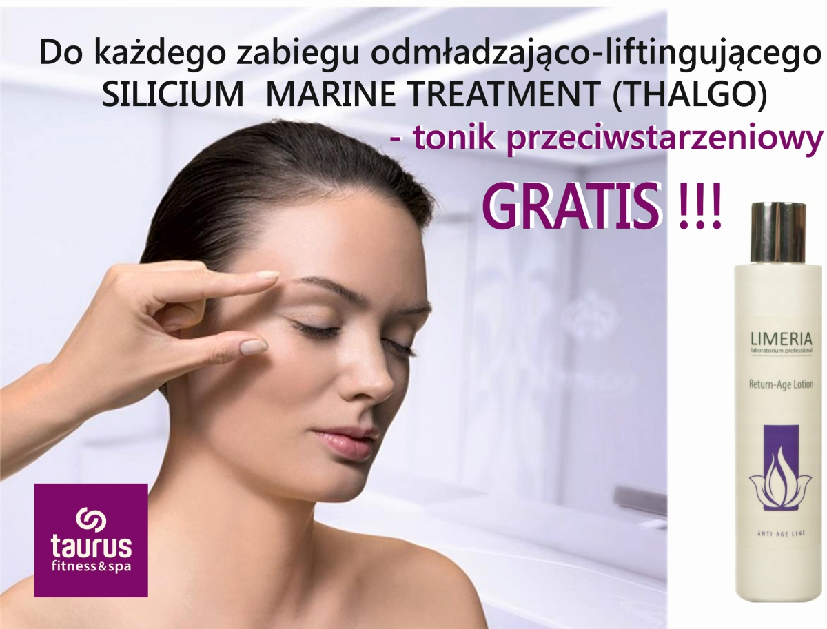 DO ZABIEGU SILICIUM - TONIK GRATIS!