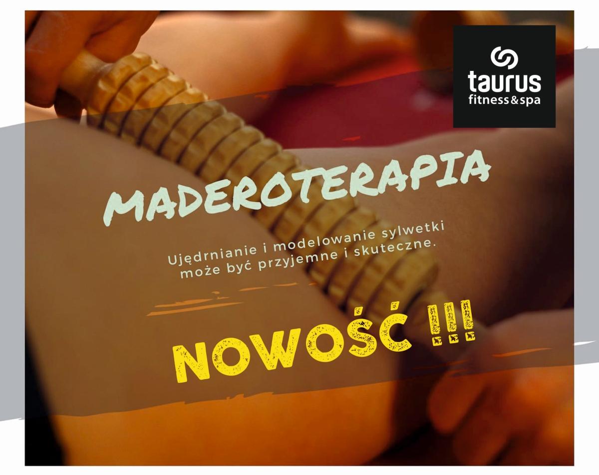 MADEROTERAPIA - nowy masaż ujędrniający !