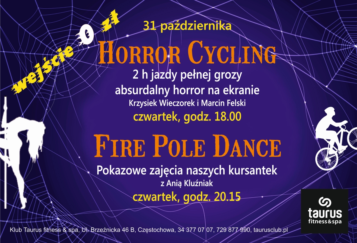 FIRE POLE DANCE I HORROR CYCLING