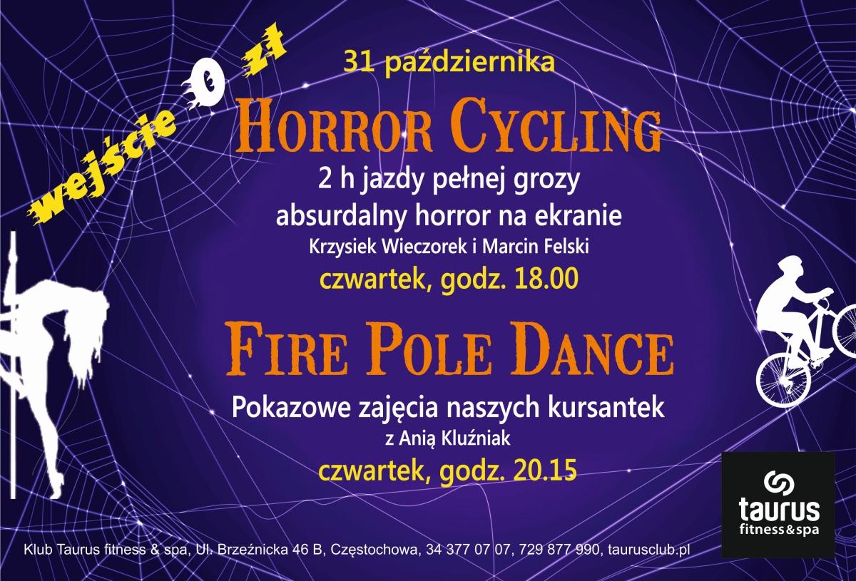 FIRE POLE DANCE I HORROR CYCLING