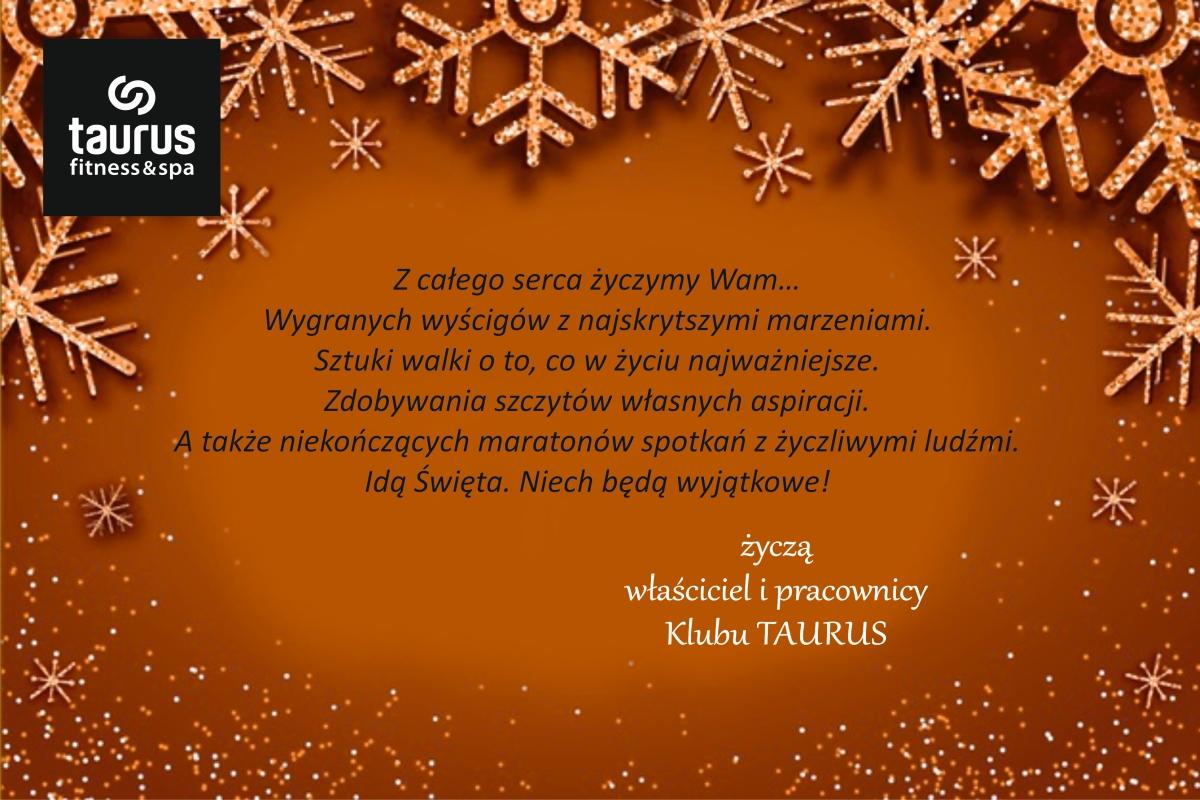 Życzenia świąteczne dla wszystkich klubowiczów