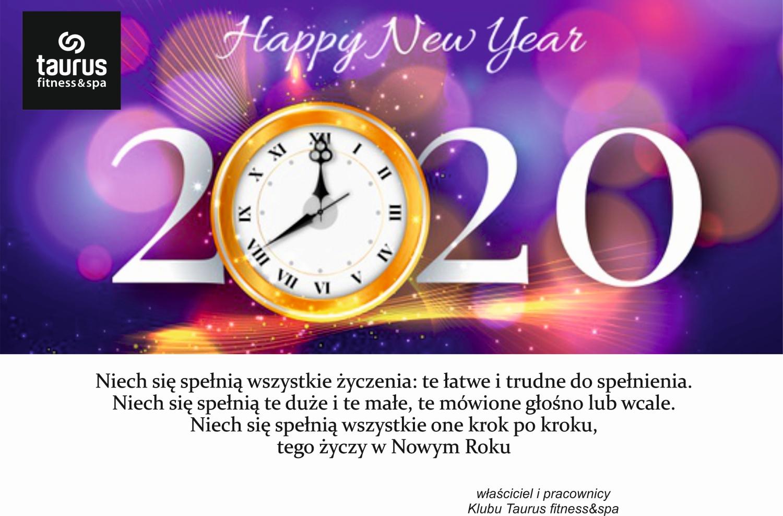 Życzenia noworoczne dla naszych klubowiczów