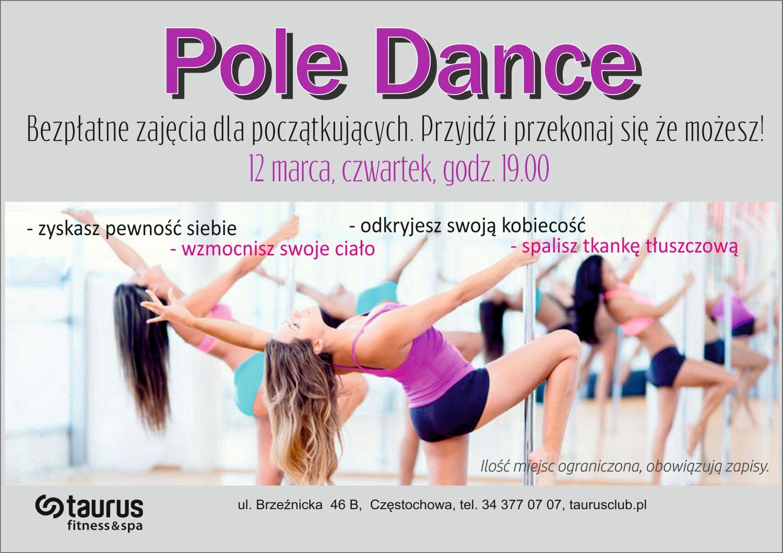 BEZPŁATNE ZAJĘCIA POLE DANCE!