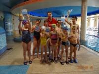 Pływacy ukończyli w niedzielę kursy doskonalenia i nauki początkowej