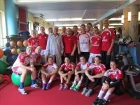 Reprezentacja Polski w piłce ręcznej ćwiczy w Taurusie