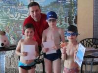 Zakończenie kursu nauki pływania