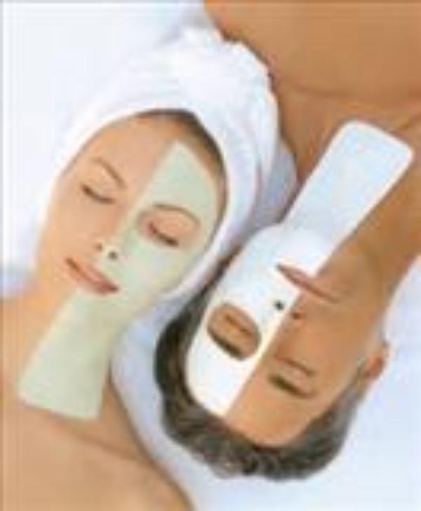 Peeling twarzy + maska oczyszczająca + maska odżywcza