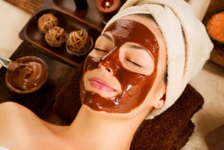 Zabieg czekoladowy na twarz